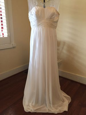 David Bridal formal gown/ wedding dress for Sale in Frederick, MD