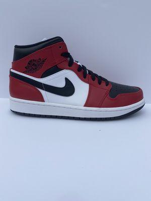"Air Jordan 1 Mid ""Chicago Toe"" size 11.5 for Sale in Atlanta, GA"