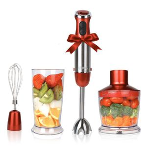 KOIOS Powerful 500 Watt Hand Blender Setting 6-12 Variable Speeds, 4-in-1 Immersion Blender Includes Food Processor, BPA-Free Beaker and Stainless St for Sale in Houston, TX
