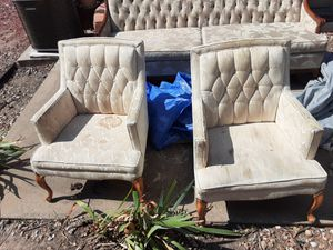 Antique Chairs original furbishing and finishing used for Sale in Wichita, KS