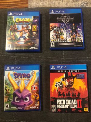 PlayStation 4 Games for Sale in North Smithfield, RI