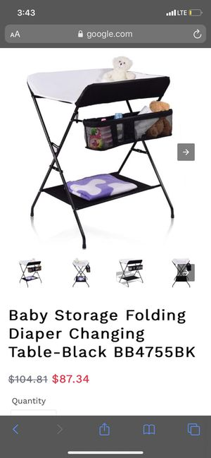 Baby changing table for Sale in Corona, CA