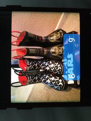 Star Wars rain boots starwars for Sale in Upland, CA