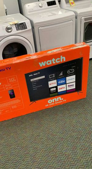 Open Box Onn TV!! Television 50 inches! New WWIU for Sale in Temple City, CA