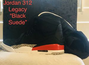 "Jordan 312 Legacy Collection ""Black Suede "" for Sale in Land O Lakes, FL"