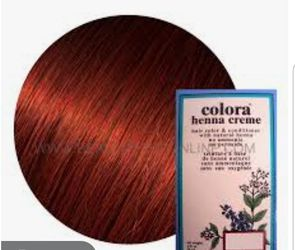 Henna Cream hair color natural no chemicals .. color Auburn.. hena para cabello for Sale in Carson,  CA