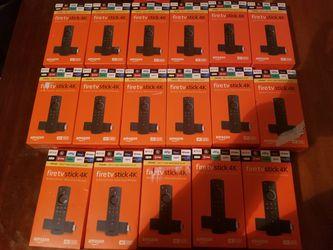 4k firesticks for Sale in Suitland,  MD