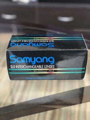 Vintage Samyang Lense!! for Sale in McLean, VA