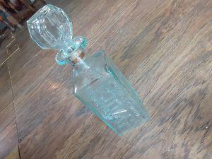 Antique glass liquor bottle for Sale in Houston, TX