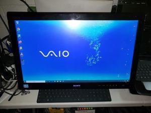 "Sony Vaio Touchscreen pc Model svl2411afyb i5 ssd 250gb 6gb 24"" Windows 10 pro Microsoft Professional Plus 2019 for Sale in Glendale, AZ"