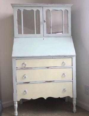 Antique French Dresser with cabinet for Sale in West Hollywood, CA
