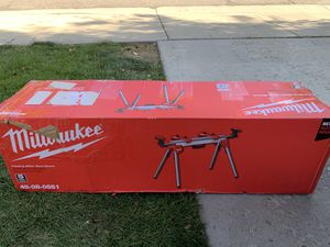 Brand new Milwaukee miter saw stand for Sale in West Valley City, UT