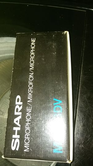 Old sharp microphone for Sale in PT CHARLOTTE, FL