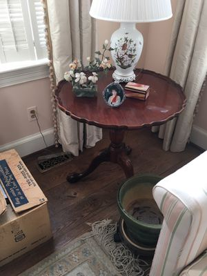 Antique Wooden Side Table for Sale in Alexandria, VA