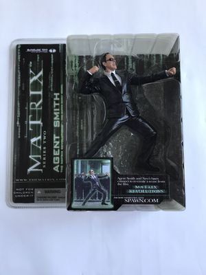 The Matrix Revolutions McFarlane Toys Series 2 Agent Smith Action Figure NIB for Sale in Portland, OR