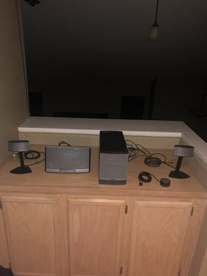 Bose surround sound system 2 speaker and subwoofer for Sale in San Diego, CA