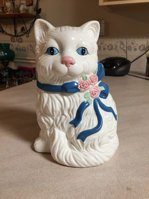 Cat cookie jar for Sale in Milton, FL