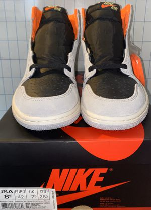 Jordan 1 grey crimson size 8.5 for Sale in New York, NY