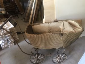 Antique baby stroller for Sale in Pine River, MN