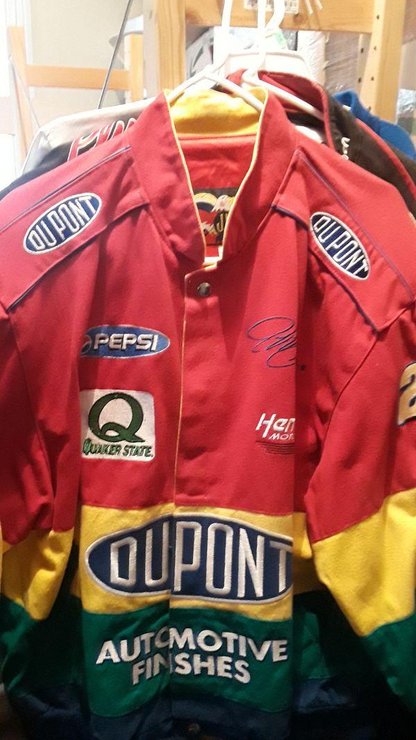 NASCAR jacket Jeff Gordon