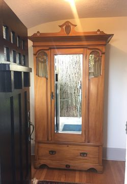 Antique armoire, good condition for Sale in Portland,  OR