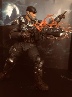 action figure gears of war marcus for Sale in Sacramento, CA