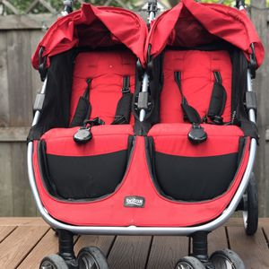 Britax B-Agile Double Stroller Red for Sale in New Albany, OH