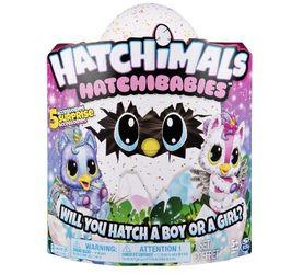 Hatchimals, HatchiBabies Unikeets, Hatching Egg with Interactive Pet Baby for Sale in Elyria,  OH