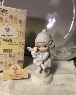 Precious moments porcelain figure for Sale in Dallas, TX