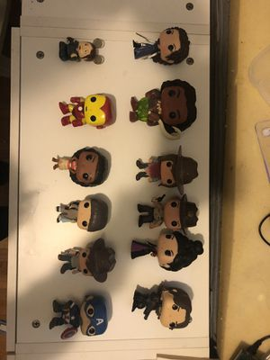 Funko Pop Collection (Marvel, Disney, Walking Dead, etc.) for Sale in Laurel, MD