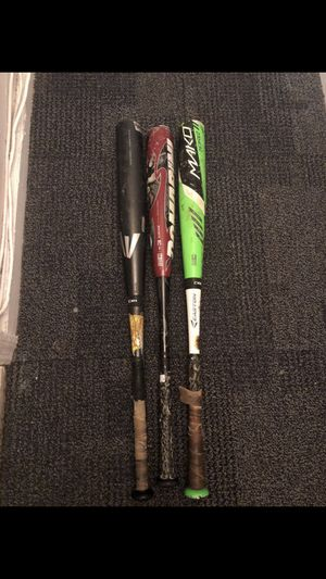 Baseball metal bats for Sale in Bronx, NY