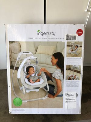 Ingenuity smartsize gliding swing and rocket for Sale in Hayward, CA