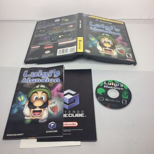 Luigis Mansion Nintendo Gamecube CIB for Sale in Palisades Park, NJ