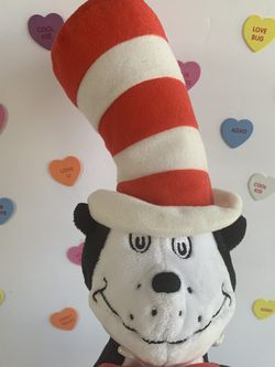 DR Seuss Cat In the Hat Plush - 22 Inches for Sale in Modesto,  CA