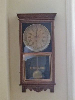 Antique Regulator Wall Clock for Sale in New York, NY