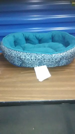 Cat pet small dog bed pillow turquoise blue for Sale in Takoma Park, MD