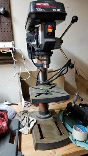 Craftsman drill press for Sale in Anaheim, CA