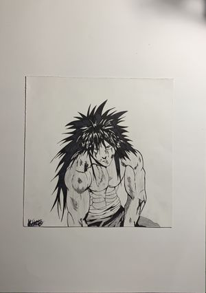 One Punch Man: Suiryu Drawing for Sale in San Antonio, TX
