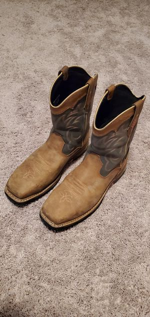Size 12 Dan Post Composite toe Work Boots. Waterproof-Non Slip for Sale in Dickson, TN