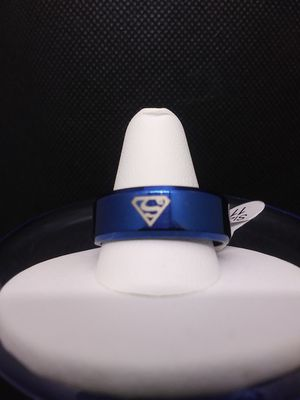 Superman Stainless Steel Ring Size 11 for Sale in Grove City, OH