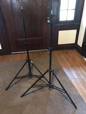 2 light / backdrop stand bases for Sale in Los Angeles, CA