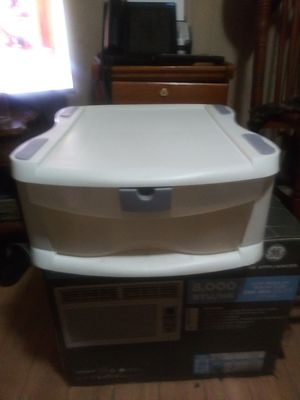 (2) Storage Containers with Push Latch Lock for Sale in Huber Heights, OH