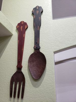Antique spoon and fork for Sale in Lakeland, FL