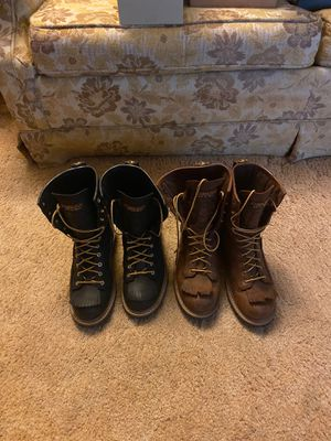 CAROLINA LOGGER WORK BOOTS for Sale in Cape Coral, FL