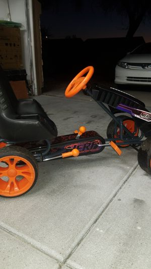 Nerf peddle car for Sale in Glendale, AZ