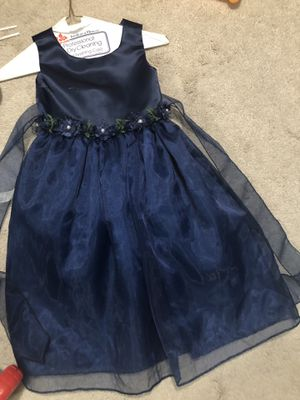 Navy blue flower girl dress for Sale in Vista, CA