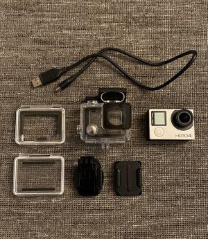 GoPro Hero 4 Silver Camera Kit for Sale in Edison, NJ