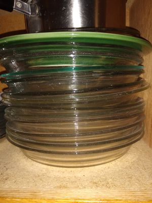 Pyrex pie dishes -- glass for Sale in Sunnyvale, CA