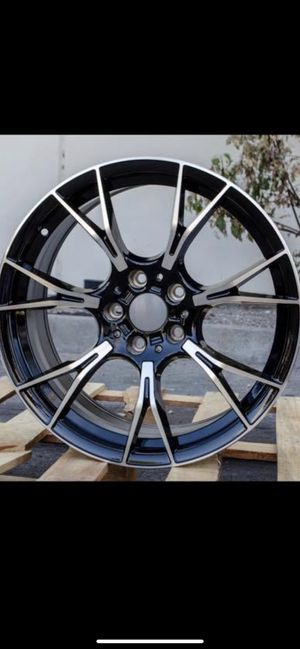 """Bmw m5 style 19"""" new rims tires set for Sale in Hayward, CA"""