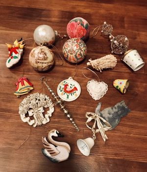 Country rustic farmhouse Christmas ornaments for Sale in Longview, WA